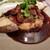 Brasserie IIDA - 牛フィレ肉とフォアグラのポワレ