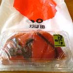 かば田てんとまる - 昆布漬け辛子明太子 自宅用包装です