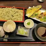 楽食 - 野菜天盛り(1,263円)