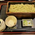 楽食 - 盛り蕎麦(重ね盛り979円)