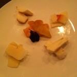 ベオーネ - チーズの盛り合せ