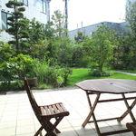 かば田てんとまる - 緑が美しい中庭