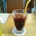 吾妻橋パーラー - アイスコーヒー(350円)