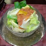 souiwashokunomura - とまとどれっしんぐさらだ れたす、さらだ菜、ぶろっこりー、黃ぱぷりか