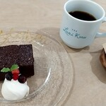 143064627 - 本日のケーキとハワイアンブレンドコーヒー