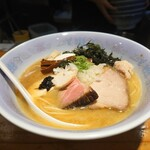 Mendokoroshinohara - 特製鯛白湯そば