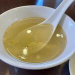 中国料理 久田 - スープ