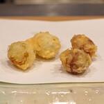 天ぷら 蕎楽亭 - 銀杏