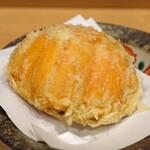 天ぷら 蕎楽亭 - 香箱蟹