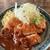 かつ福 - 料理写真:食べ比べ定食