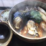 茅ヶ崎 そば処 榮家 - 牡蠣蕎麦 大盛