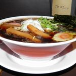 Fu‐Ro‐Ya - 料理写真:とりの黒支那「ブラックバード」800円