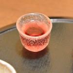 茶房料理 月乃日山 - ドリンク写真:食前酢