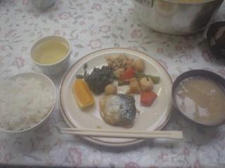 白馬鑓温泉小屋 - 夕食