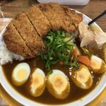 カリーハウス コロンボ - かつミックスカレー1020円