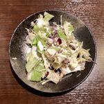 イタリア食堂 - ランチに付くサラダ