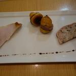 コムデジュルノー - お肉の前菜