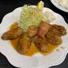 えいすけ - 料理写真:牡蠣バター焼き定食 1,400円