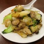 中国料理 茗華楼 - 八宝菜:テーブル辺りに 良い香りが広がります。     2020.12.20