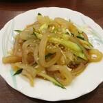 中国料理 茗華楼 - クラゲの和え。     2020.12.20