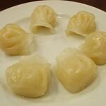 中国料理 茗華楼 - 海老蒸し餃(3個)×2。     2020.12.20