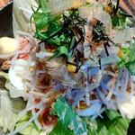 やきにく藤太 - 大根サラダ