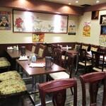 中国料理 茗華楼 - 店内の様子。     2020.12.20