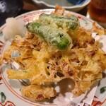 山翠 - 納豆の天ぷら