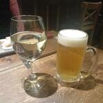ラ・レプブリック - 生ビールとスパークリングワイン