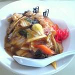 鳳園 - ミニ中華丼