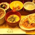 さんるーむ - 季節の魚御膳(アジの唐揚げ甘酢あんかけ)1,180円