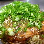 いち香 - 広島風お好み焼き(イカ天入り)