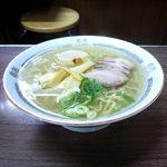 ふじとり - 塩ラーメン(570円)