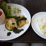 大麦小麦 - 白身魚のソテー