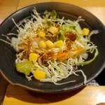 蛇の目鮨 - サラダ