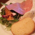 オステリア フルボ - ランチ 前菜 ポテトサラダが美味しいです。