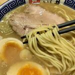 銀座 いし井 - 麺アップ