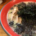 がんこや かるがん - 料理写真:岩のりチャーシュー麺(UP)