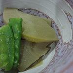 山本山 - 一品の、筍の煮もの。