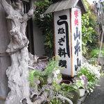 山本山 - 店舗入口