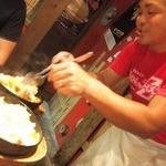 味壱家 - 来ました〝とんこつ飯〟トークも楽しい