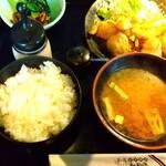 和牛焼肉たから - 料理写真:近江牛 ホルモン唐揚げ800円