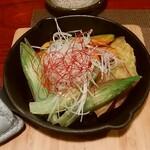 ごっ馳 - 土佐野菜のオリーブ焼き