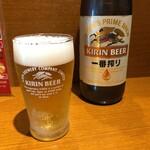 華Sansyou学 - 瓶ビール