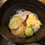 西村商店 - 一本刺し定食の小鉢