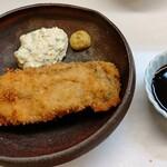 神楽坂ささ木 - 牡蠣フライ