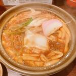143122557 - バーン!東京味噌煮込みうどん