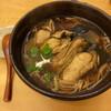 手打ちそば ゆふ徳 - 料理写真:牡蠣蕎麦