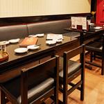 蘭蘭 - テーブル席