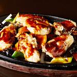 蘭蘭 - 牡蠣の鉄板焼き
